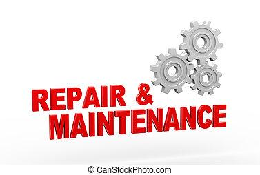 3d gear cog wheel repair maintenance