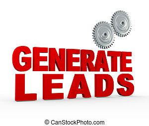 3d gear - generate leads