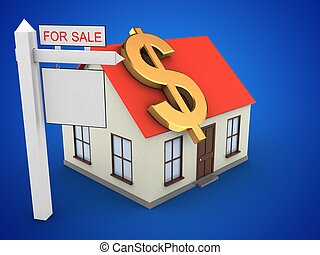 3d generic house