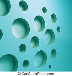 3D geometric abstract background - comuter third dimensional...