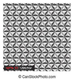 3D Geometric Background Illustratio