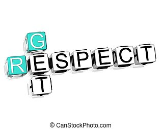 Get Respect Crossword