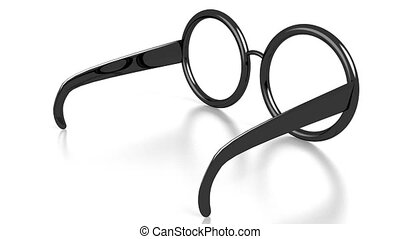 3D glasses on white background - great for topics like...