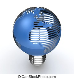 3d global energy concept
