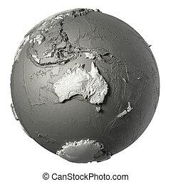 3D Globe Australia
