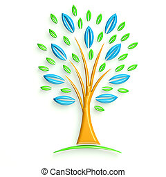 3D Glossy Illustration Business