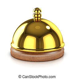 3d Gold bell
