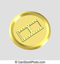 film clip icon