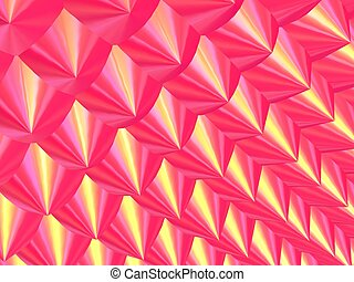 3d-Golden Pink Prick