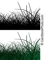 3d grass with alpha mask