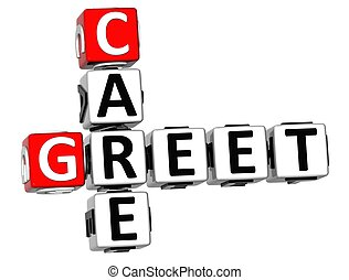 3D Greet Care Crossword