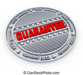 3d guarantee stamp