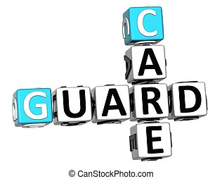 3D Guard Care Crossword