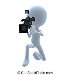 3D Guy Wtih A Camera