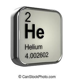 3d, hélio, elemento