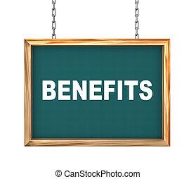 3d hanging banner - benefits