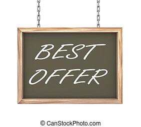 3d hanging banner - best offer