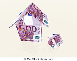 rampe banknoten 5 500 euro banknoten schritte 5 stock illustration suche vektor. Black Bedroom Furniture Sets. Home Design Ideas