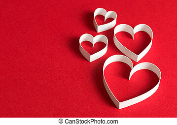 3D heart shape symbol