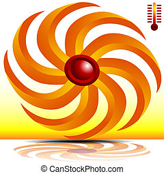 3d Heating Fan