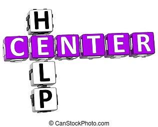 3D Help Center Crossword
