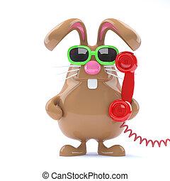 3d Helpdesk bunny