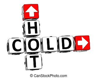 3D Hot Cold Crossword