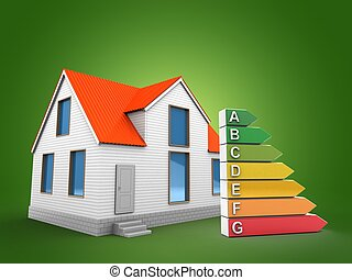 3d house with efficient ranks