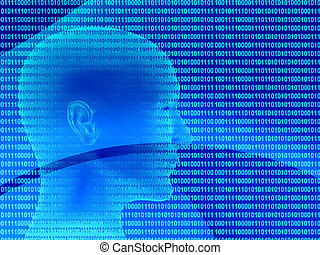 3d human profile from a binary code - Human profile from a ...