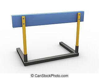3d hurdle