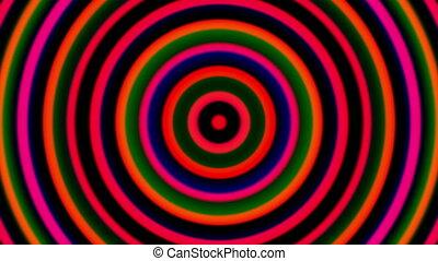 3d hypnotic spirals, swirling radial vortex background,...