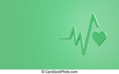 3d, icon., benessere, buono, mete, salute, sviluppo, ...