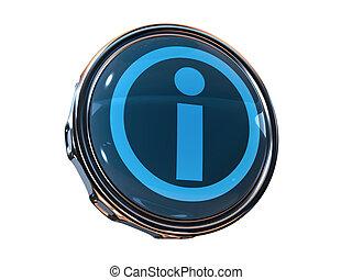 3d icon Info