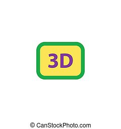 3d Icon Vector