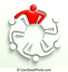 3D Illustration Business Icon