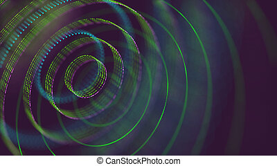 3D Illustration Holographic - 3D Illustration. Abstract...