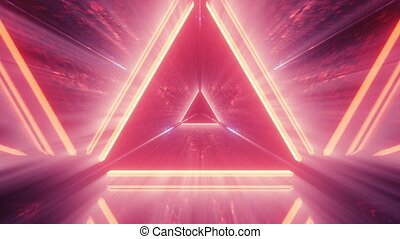3d illustration motion background live wallpaper of the abstract door to heaven or paradise artwork visuals vj loops