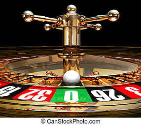roulette - 3D illustration of a roulette