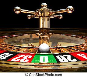 roulette - 3D illustration of a roulette