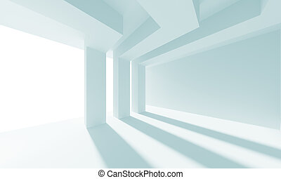 Abstract Doorway Background - 3d Illustration of Abstract...
