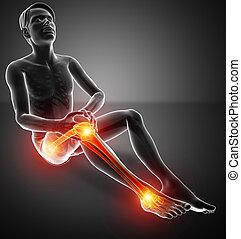 Male Leg Joint Pain