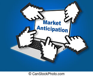 Market Anticipation concept
