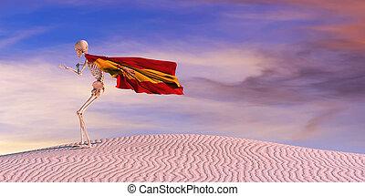 3d illustration of the flag