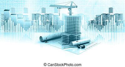 urban construction concept