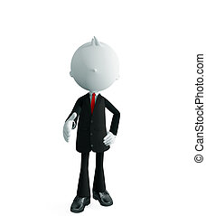 businessman with shake hand pose