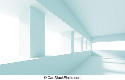 White Empty Hall