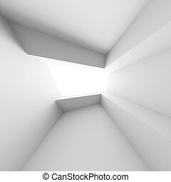 White Interior - 3d Illustration of White Interior...