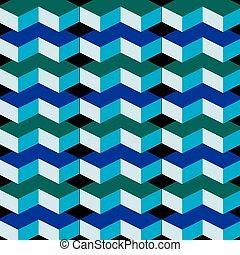 3d, ilusão óptica