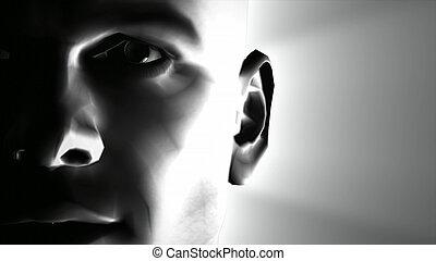 3d Image of a man