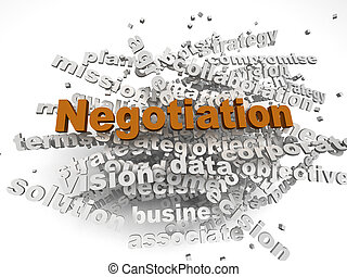 3d, imagem, negociação, edições, conceito, palavra, nuvem, fundo